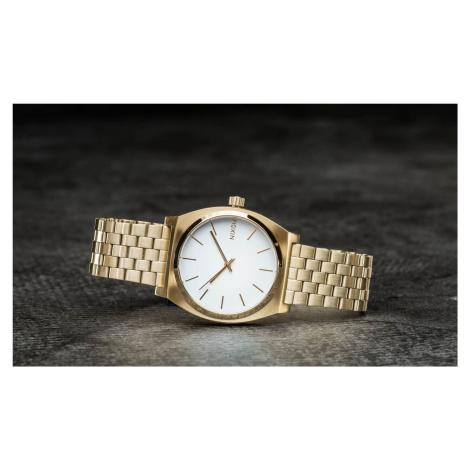 Nixon Time Teller Gold/ White