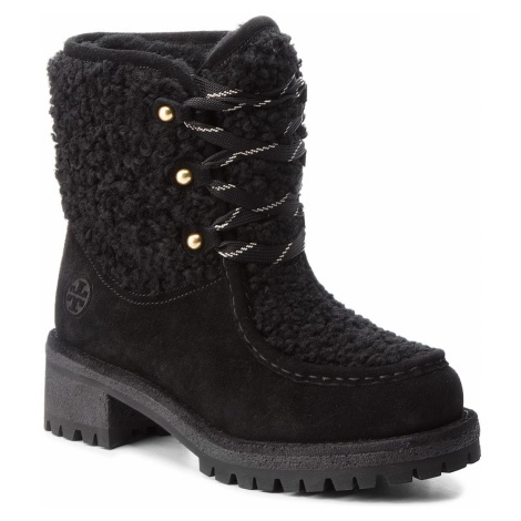 Trapery TORY BURCH - Meadow Boot 49197 Perfect Black/Perfect Black 004