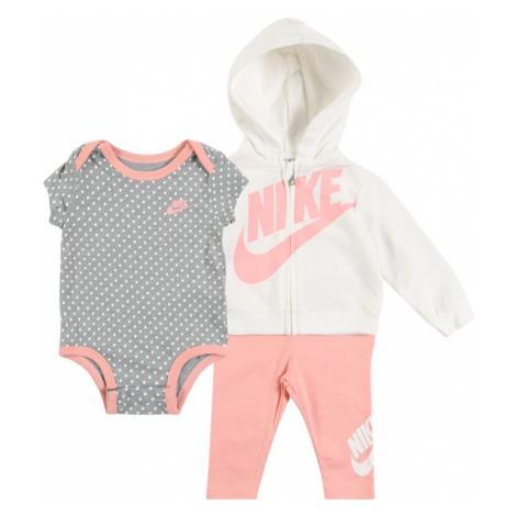 Nike Sportswear Zestaw 'FUTURA FZ FRENCH TERRY 3PC SET' koralowy
