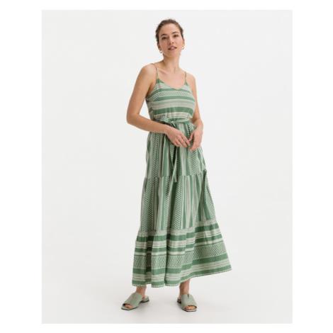 Vero Moda Dicthe Sukienka Zielony
