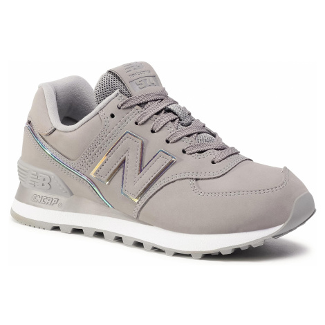 Sneakersy NEW BALANCE - WL574CLE Szary