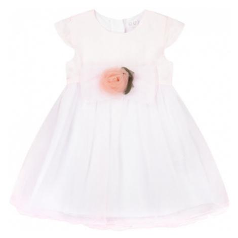 Guess Sukienka elegancka A01K12 WC630 Różowy Regular Fit