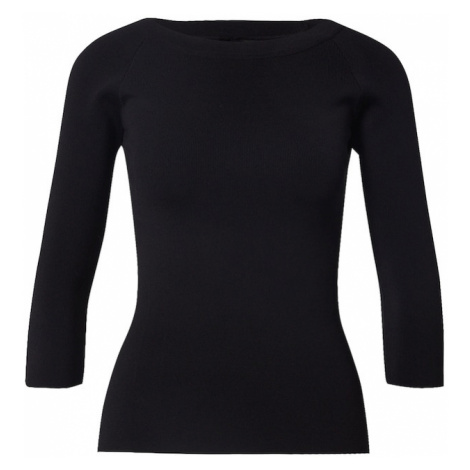 River Island Sweter czarny