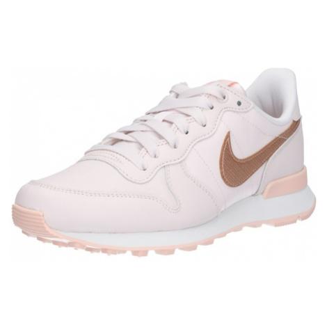 Nike Sportswear Trampki niskie 'Internationalist Premium' beżowy / cielisty / różowy pudrowy