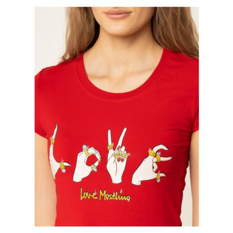 LOVE MOSCHINO T-Shirt W4B194YE 2065 Regular Fit