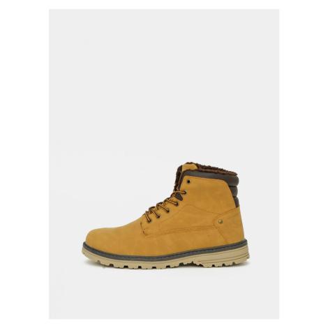 Mustard Men's Ankle Boots LOAP
