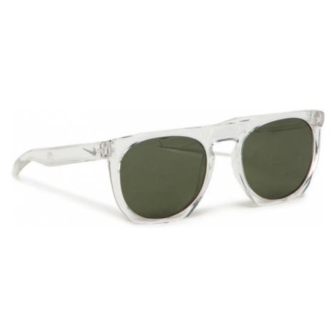 Nike Okulary przeciwsłoneczne Flatspot EV0923 903 Biały