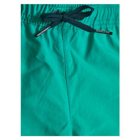 Tommy Hilfiger Szorty kąpielowe Medium Drawstring UB0UB00169 D Zielony Regular Fit