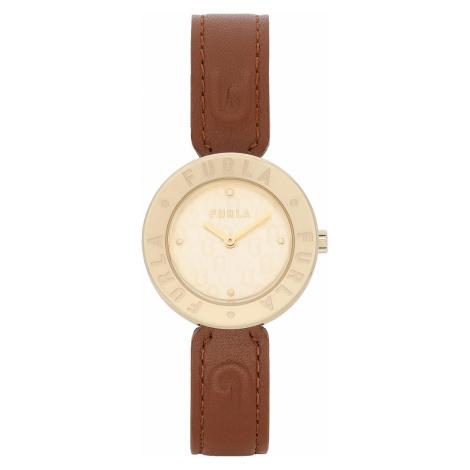 Zegarek FURLA - Essential WW00004-VIT000-03B00-1-007-20-CN-W Cognac h