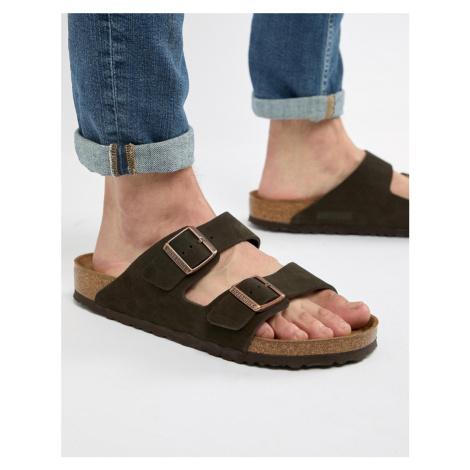 Birkenstock Arizona sandals in mocha suede