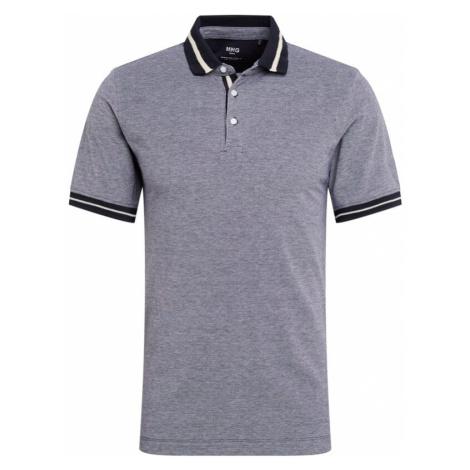 MANGO MAN Koszulka 'Paul' niebieski ultramaryna / gołąbkowo niebieski / biały