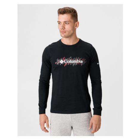Columbia Lodge™ LS Graphic Koszulka Czarny