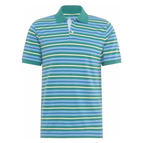 GAP Koszulka nefryt / jasnoniebieski / jasnożółty