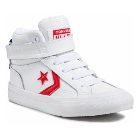 Converse Sneakersy Pro Blaze Strap Hi 670509C Biały