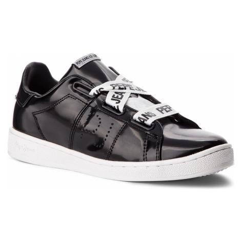 Sneakersy PEPE JEANS - Brompton Laces PLS30735 Black 999