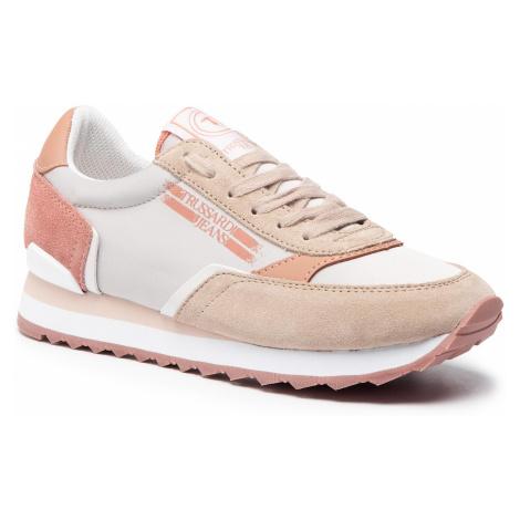 Sneakersy TRUSSARDI JEANS - 79A00339 E154