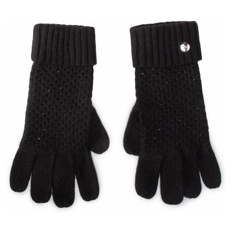Rękawiczki Damskie LIU JO - Guanti Nido Dape 2F0023 M0300 Nero 22222