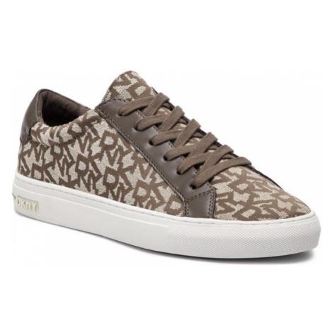DKNY Sneakersy Court K2047881 Brązowy