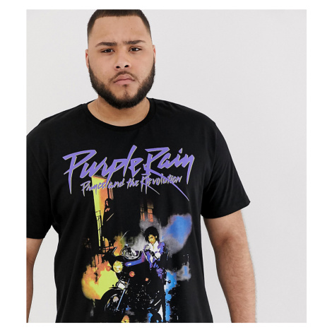 ASOS DESIGN Plus relaxed t-shirt with Prince print