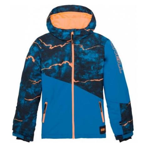 O'Neill PB HALITE JACKET niebieski 164 - Kurtka narciarska/snowboardowa chłopięca