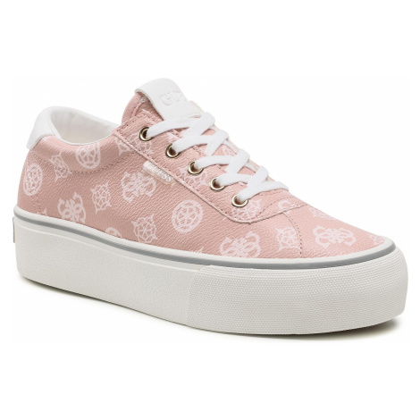 Sneakersy GUESS - Sanam FL5SAN FAL12 NUDE