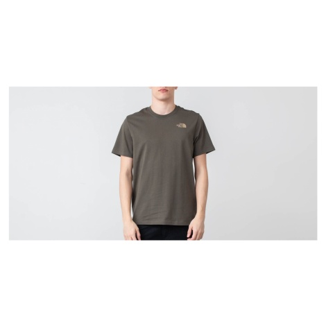 The North Face Red Box Tee New Taupe Green