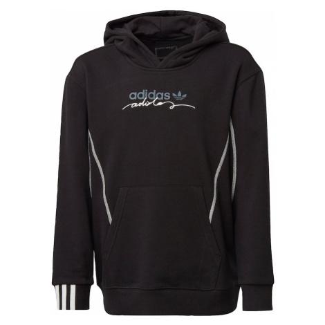 ADIDAS ORIGINALS Bluza jasnoniebieski / czarny / biały