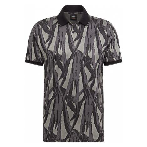 BOSS Koszulka 'Peloc 10215105 01' pastelowy zielony / ciemnozielony Hugo Boss