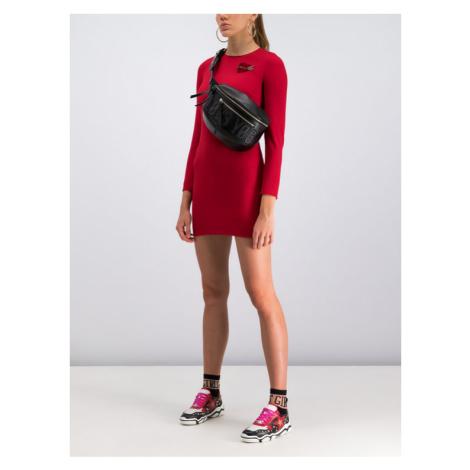 Red Valentino Sukienka koktajlowa SR3VAH30 Czerwony Regular Fit