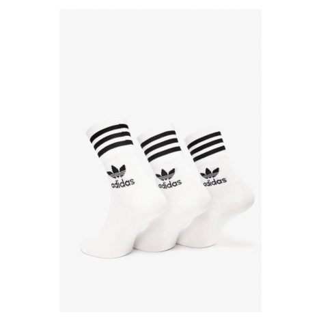 Skarpety 3Pack adidas Mid Cut Crw Sck 575 White / Black