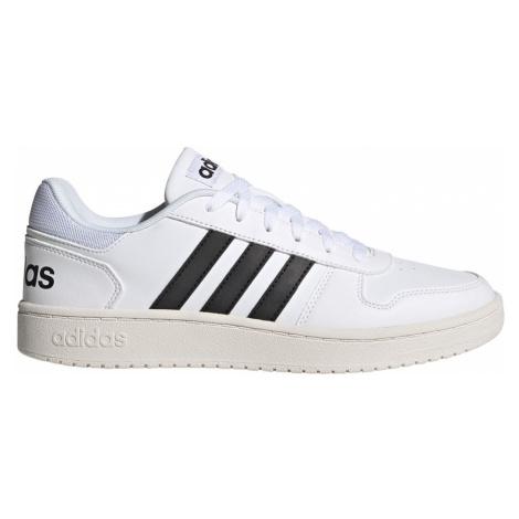 Adidas Hoops 2.0 Męskie Biało-Czarne (FY8629)