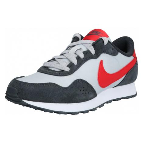 Nike Sportswear Trampki 'VALIANT' biały / czerwony / ciemnoszary