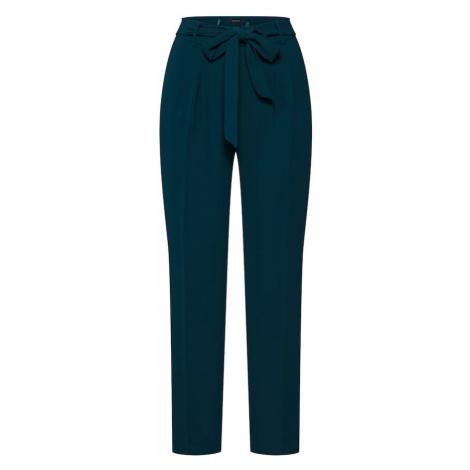 MORE & MORE Cygaretki 'Fluent Crepe Pants' szmaragdowy