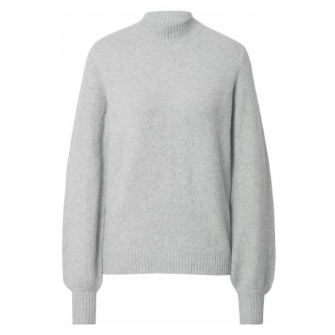 VILA Sweter 'Hanna' jasnoszary