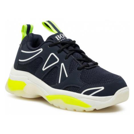 Boss Sneakersy J29219 D Granatowy Hugo Boss