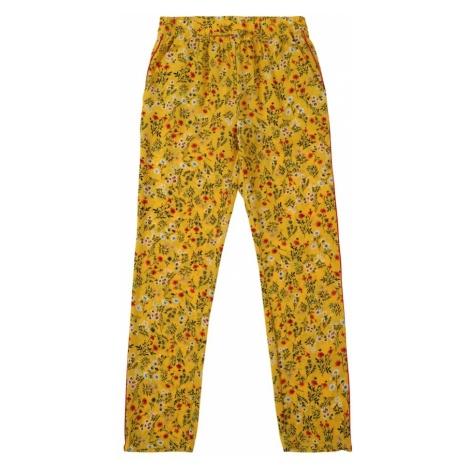 KIDS ONLY Spodnie 'konAGNES PIPING PANTS WVN' żółty