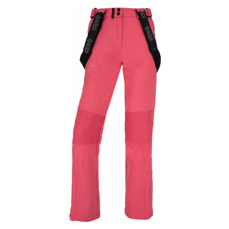 Women's softshell pants Dione-w pink - Kilpi