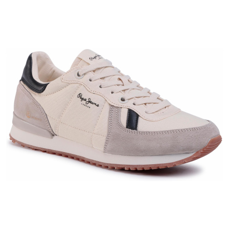 Sneakersy PEPE JEANS - Tinker Jogger PMS30614 Stone 836