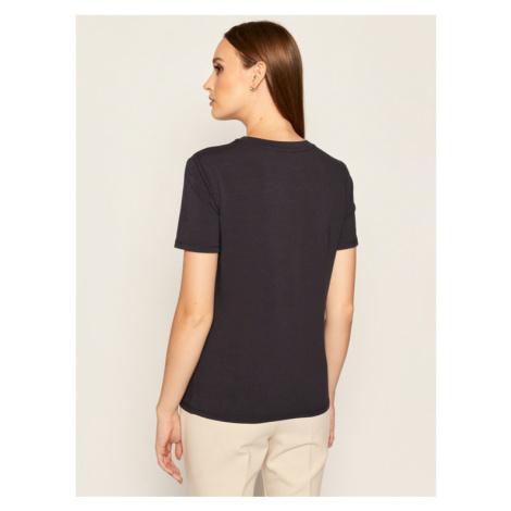 Max Mara Leisure T-Shirt Vagare 39760506 Granatowy Regular Fit