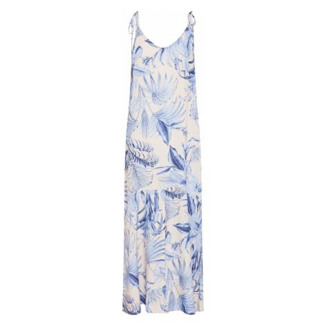 Y.A.S Sukienka kremowy / jasnoniebieski