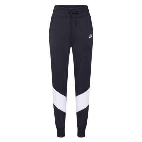 Nike Sportswear Spodnie 'W NSW HRTG TRCK PANT PK' czarny / biały