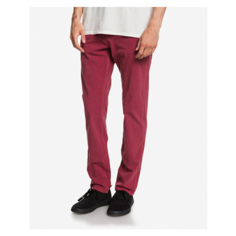Quiksilver Krandy 5 Spodnie Czerwony