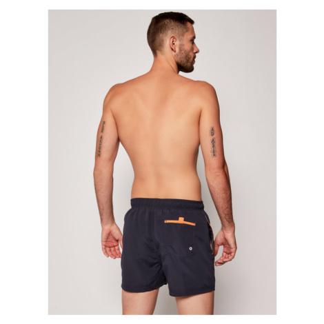 Pepe Jeans Szorty kąpielowe Bryan PMB10236 Granatowy Regular Fit