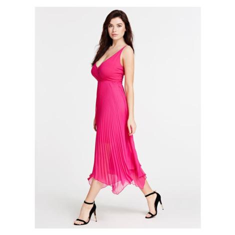 Długa Plisowana Sukienka Marciano Guess