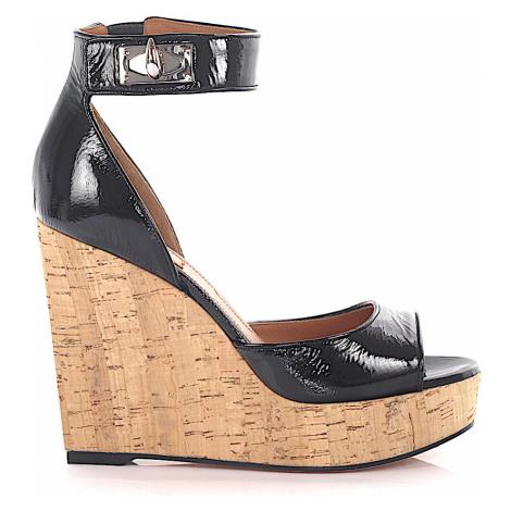 Givenchy - Buty Sandały czarny beż
