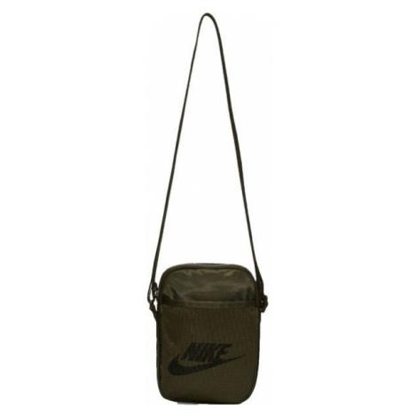 Nike HERITAGE ciemnozielony NS - Torba na ramię