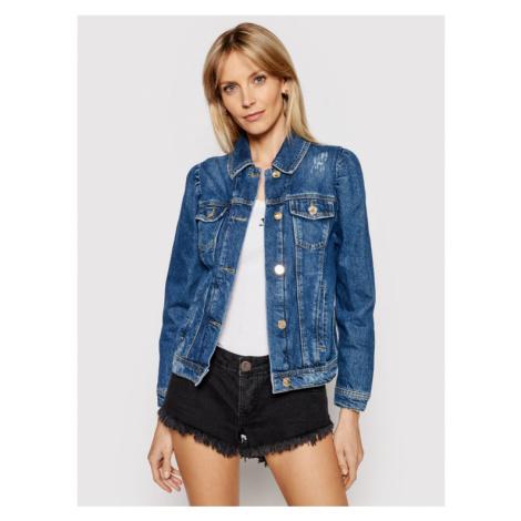 Pinko Kurtka jeansowa Betty PE 21 PDEN 1J10NB Y653 Granatowy Regular Fit