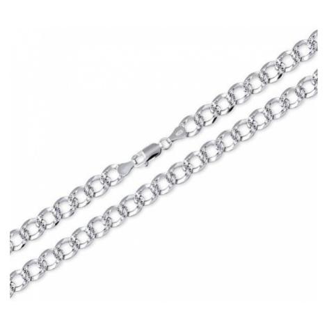 Brilio Silver MęskaŁańcuch Pancerz 55 cm 471 086 00149 04 - 18,90 g srebro 925/1000