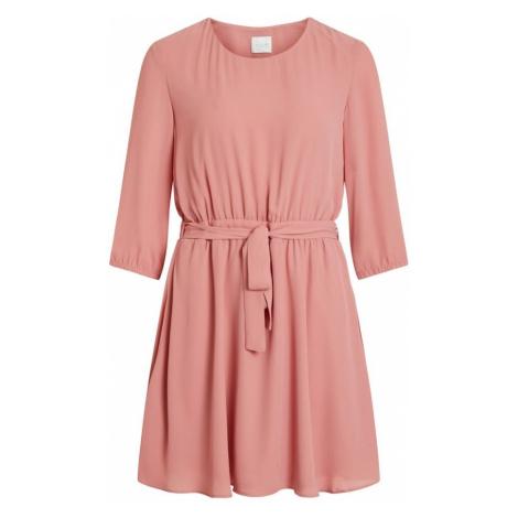 VILA Sukienka 'VILUCY' różowy pudrowy