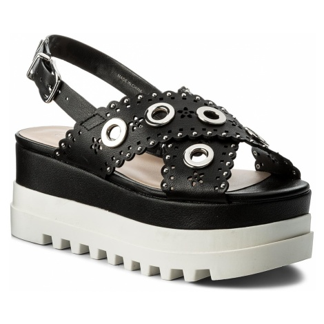 Sandały LIU JO - Platform Sandal S18065 E0332 Black 22222